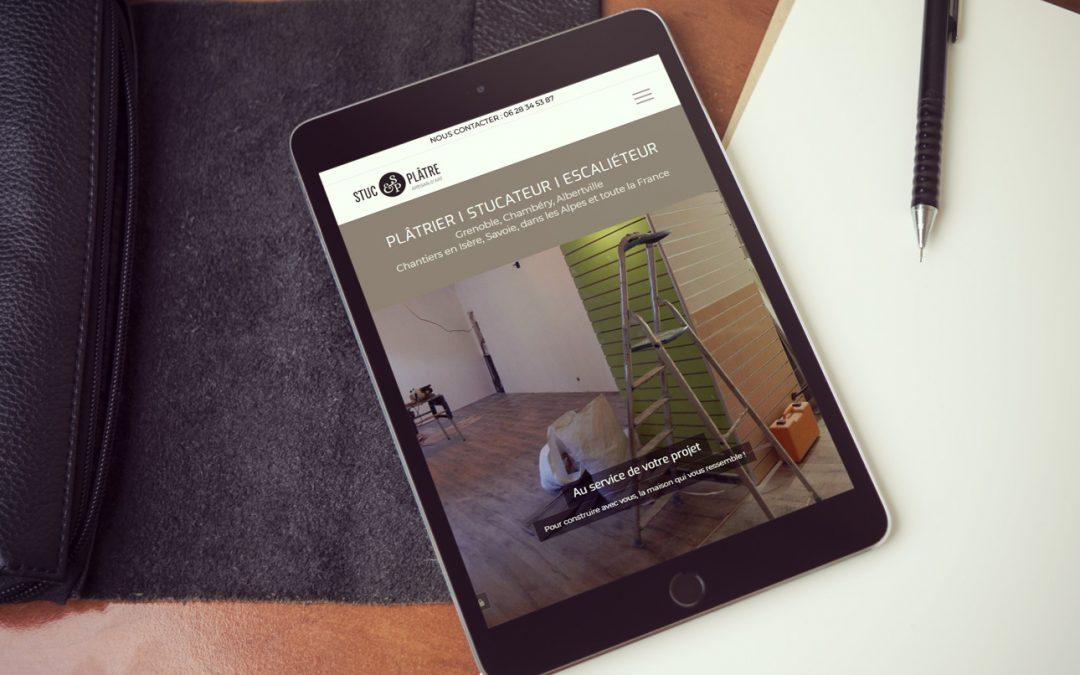 Stuc & Plâtre, artisan d'art : nouveau site Internet